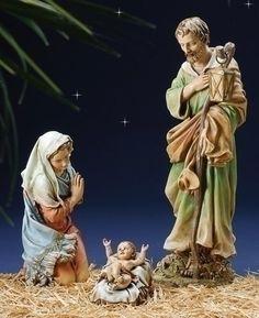 3-Piece Joseph's Studio Holy Family Religious Christmas Nativity Set Roman       $321.95