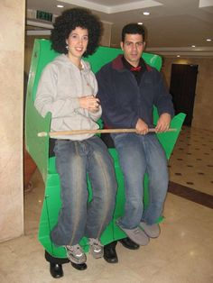 roller coaster costume, so clever! @Tiffany Martin .... this is in our future, though it will be a 3 seater!