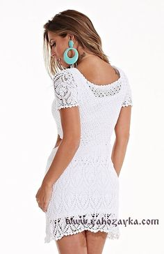 Crochet dress free diagram crochet clothing pinterest ccuart Images
