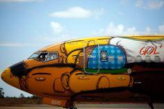 O avião que é street art que é o Brasil | P3