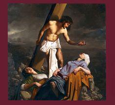 Roberto Ferri - The 8th Station of the Cross