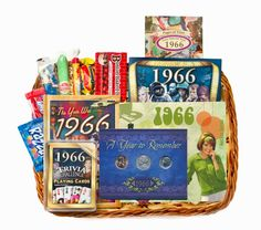 50th Anniversary Gifts for Golden Anniversaries - Married in 1966