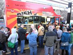 Food Truck Friday in downtown Reno, Nevada