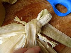 Did you save your corn husks? Are they dry yet? Some of mine are dry, others need more time. It's been cloudy and rainy here lately. But it's fall decorating time and I need corn husk dolls! Corn husk dolls are the epitome of primitive, so you can't go wrong. They're fun to make, with …