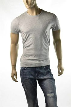Armani Exchange T-shirt A/X Mens Pima 1 Pocket Crewneck S/S T Shirts Sz M New #ArmaniExchange #BasicTee  #5Gables For More Discounts Visit http://ebay.us/GWAxXI