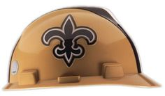 145e15fe292a04 MSA Safety New Orleans Saints - NFL V-Gard Protective Cap Hard Hat http: