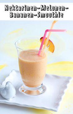 Dieser fruchtige Smoothie ist der perfekte Start in einen warmen Sommertag!