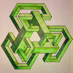 20140405a (regolo54) Tags: pattern geometry symmetry tessellation isometric tiling impossible