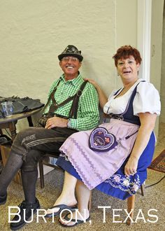 The Kuckuck's Nest out of Fredericksburg, selling their authentic German Wares at Burton's first Oktoberfest.