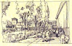 URS. Tiffen.  Preliminary Sketch by Bondy Studio.