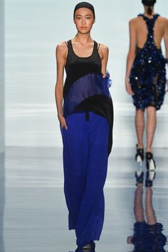 Looks so soft & comfy! Vera Wang Spring 2014 Ready-to-Wear Collection Slideshow on Style.com