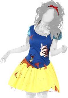Smiffy's Zombie Snow White Costume Costume carnevale donna: confronta i prezzi e compara le offerte su idealo.it