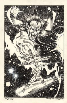 alexhchung:  Silver Surfer: Judgement Day by John Buscema &...