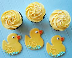 Buy rubber duck cakes online | Rubber duckie cupcakes, rubber ducky birthday cake pops, cookies and macarons