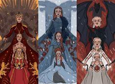 Game Of Thrones Poster, Got Game Of Thrones, Game Of Thrones Funny, Game Of Thones, Fanart, Daenerys Targaryen, Khaleesi, Winter Is Here, Mother Of Dragons
