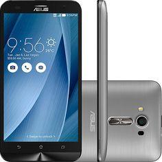 Smartphone ASUS Zenfone 2 Laser Desbloqueado Dual Chip Android 5.0 Tela 5.5 16GB 4G 13MP - Prata