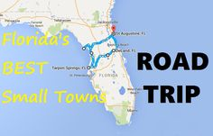 Take This Road Trip Through Florida's Most Picturesque Small Towns For An Unforgettable Experience http://finelinedrivingacademy.co.uk