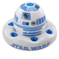 R2-D2 drink holder for the pool! YES!