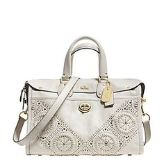 Mini Studded Rhyder Leather Satchel   Lord and Taylor