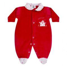 Macacão Bebê Menina em Plush :: 764 Kids Loja Online, Roupa bebê e infantil !