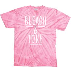 "Tana Mongeau ""Bleach & Tone "" Pink T-Shirt"