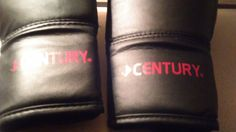CENTURY YOUTH Wrist Wrap Boxing Gloves Black 6oz Excellent Condition! #Century