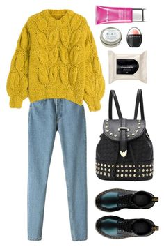 """""""Без названия #185"""" by june-287 ❤ liked on Polyvore featuring Maison Margiela, H&M, Sephora Collection, CB2 and Elemis"""