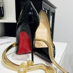 "Christian Louboutin 'So Kate'  Pumps MAKE ME AN OFFER   Definitely a must have!! ✨ These Christian Louboutin's are patent black ▪️ Worn twice  ▪️ Authentic   ▪️Size:37 1/5 (US 7.5)  ▪️Comes in its original box with the red louboutin dustbag   ▪️Details▪️ Christian Louboutin black patent leather So Kate pumps feature a pointed toe and signature red leather sole.   4.75""/120mm heel (apprx) Pointed toe Patent-leather-covered stiletto heel Slips on Signature red leather sole Made in Italy…"