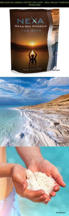 nexa dead sea minerals for hot tub u0026 bath ideal for salt water spa system - Saltwater Hot Tub