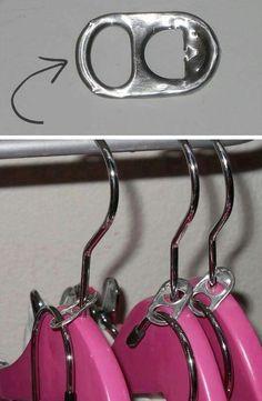 Closet space saver idea