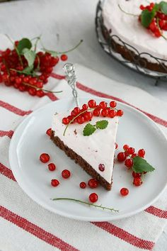 Red Currant Quark Cheesecake