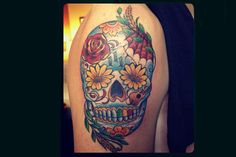 Kendall Schmidt's Day of the Dead Tattoo