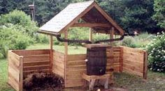 Humanure hacienda- composting toilet