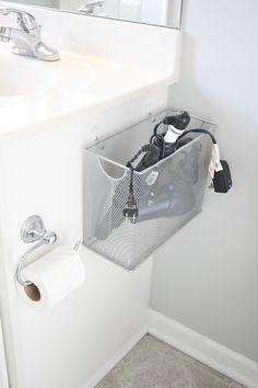 File Box Bathroom Appliance Storage
