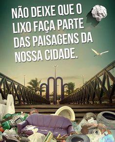 """Não deixe que o lixo faça parte das paisagens da nossa cidade. Projeto """"Eu preservo eu sou cidadão."""" Torre seriedade reconhecida pela sua qualidade de vida.    #TorreEmpreendimentos #Torre #Aracaju #sustentabilidade #qualidade #seriedade by torreempreendimentos http://ift.tt/1RwOZx7"""