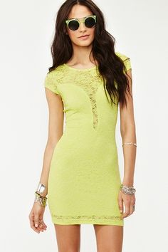 Plunging Lace Dress  Was $48.00 Now $33.60