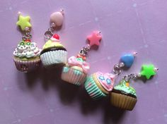 A personal favorite from my Etsy shop https://www.etsy.com/listing/227827715/polymer-clay-miniature-food-cupcake