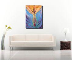Original oil abstract paintings, Golden autumn tree https://www.etsy.com/shop/Dhanaart?section_id=14945718&ref=shopsection_leftnav_2