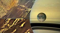 Incrível cidade alienígena é descoberta por sonda da NASA em lua de Saturno ~ Sempre Questione