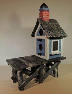 Interesting Bird Houses - by Dan'um Style @ LumberJocks.com ~ woodworking community