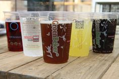 The GroenBekers ®, the best compostable cups in the world!