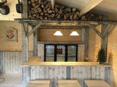 Man Shed Interior Ideas, Bar Shed, Man Cave Home Bar, Apres Ski, Cottage, Cabin, Kitchen, Home Decor, Outdoor
