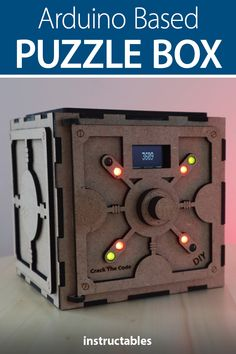 Crack the Code Game is an Arduino based puzzle box with LED indicator lights. Useful Arduino Projects, Robotics Projects, Diy Electronics, Electronics Projects, Nouveaux Gadgets, Projets Raspberry Pi, Learn Robotics, Escape Room Puzzles, Kid Spaces