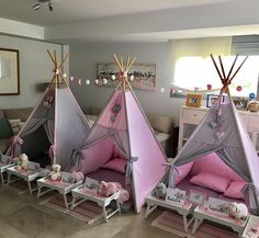 Glamping doesn t get any cuter – Artofit Sleepover Birthday Parties, Girl Sleepover, Pj Party, Birthday Party Themes, Tent Parties, Teepee Party, Kids Spa, Kids Tents, Pamper Party