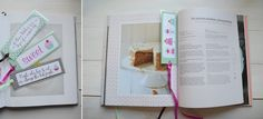 Zakładki do książki - szablon DIY - Słodka Pracownia - Przepisy | Dekoracje | Przyjęcia