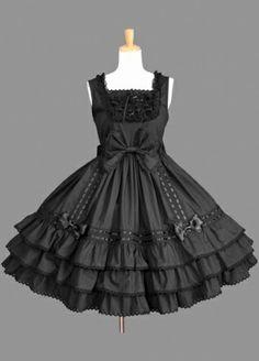 Gothic Black Lolita Dress Lolita Clothing
