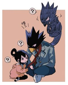 Tokoyami Boku No Hero, Tsuyu Asui, Angel Beats, Nisekoi, Boku No Hero Academia, Anime Ships, Manhwa, Anime Love, Squad
