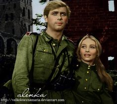 Love blossomed during the war by VelkokneznaMaria on DeviantArt Polish Films, Retro 2, People Of The World, Unique Photo, Classic Movies, Hollywood Stars, Childhood Memories, Poland, Beautiful People