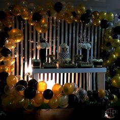 30th Birthday Themes, Boy 16th Birthday, 16th Birthday Decorations, 30th Party, Graduation Diy, Ideas Para Fiestas, Gold Party, Wii, Color Schemes