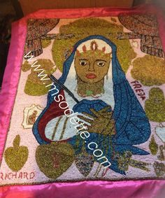 Erzulie Freda Voodoo Vodou flag, Made in Haiti. Available in my shop on Etsy Erzulie Freda, Voodoo, Flag, Kids Rugs, Shop, Etsy, Decor, Decoration, Kid Friendly Rugs